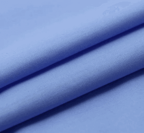 Polyester Cotton Plain Fabric blue TC12450