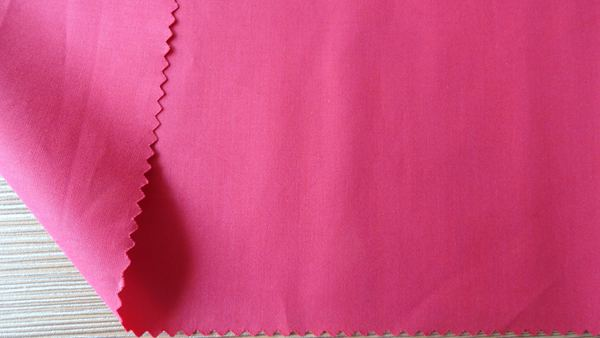 Polyester Cotton Plain Fabric Pink TC13372