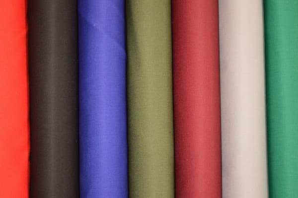 Polyester Viscose plain Uniform poplin 07500