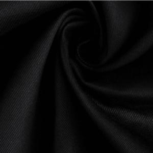 Polyester Viscose twill Uniform Black 10756