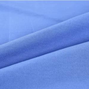 Polyester Viscose Tropical Uniform Light blue 13256