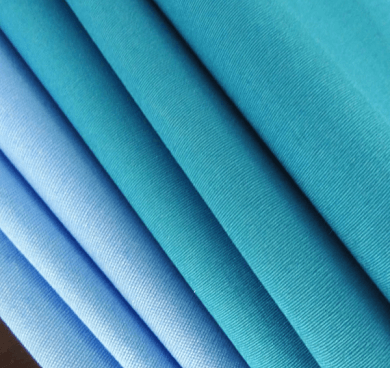 Polyester Viscose Tropical Uniform Light blue15648