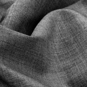 TR Suiting Fabric With Wool grey