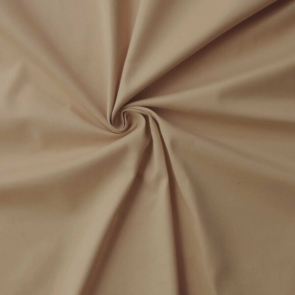 100% Cotton twill Fabric taupe C14072