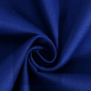 100%Cotton twill Fabric Royal blue C12055