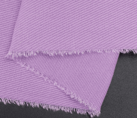 100%Cotton twill Fabric purple C13617